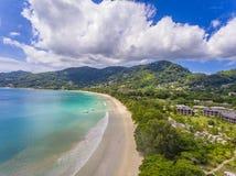 Beau Vallon Beach Royalty Free Stock Photo