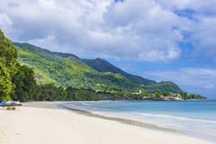 Beau Vallon beach Royalty Free Stock Photos