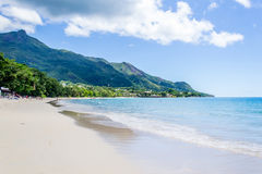Beau Vallon beach - Mahe - Seychelles Royalty Free Stock Photography