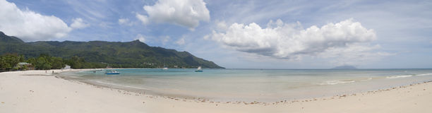 Beau Vallon Beach at the Seychelles Royalty Free Stock Photography