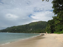 Beau Vallon beach, Seychelles Royalty Free Stock Images