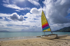 Beau Vallon beach Royalty Free Stock Image