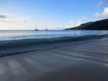 Beau Vallon beach Royalty Free Stock Photos