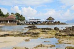 Beau Vallon beach Stock Photography