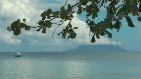 Beau Vallon at island Mahe, Seychelles. stock video footage