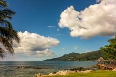 Beau Vallon - Mahe - Seychelles Stock Photos