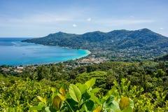 Beau Vallon - Mahe - Seychelles Royalty Free Stock Image
