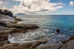 Beau Vallon - Mahe - Seychelles Royalty Free Stock Images