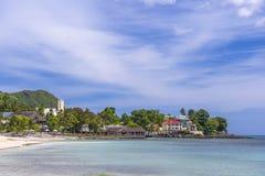 Beau Vallon, Seychelles imágenes de archivo libres de regalías