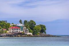 Beau Vallon, Seychelles imagen de archivo libre de regalías
