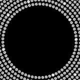 Beau vecteur abstrait de fond de diamant noir Photographie stock libre de droits