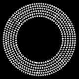 Beau vecteur abstrait de fond de diamant noir Photographie stock