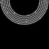 Beau vecteur abstrait de fond de diamant noir Photos libres de droits