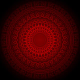Beau vecteur de Mandala Background EPS10 Photos libres de droits