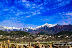 Beau veiw de lowerdir Pakistan Photo libre de droits