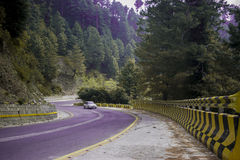 Beau veiw de route Islamabad de muree Photo libre de droits