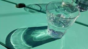 Beau verre de watee Photographie stock