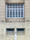 beau vieux bâtiment avant de style européen Photo libre de droits