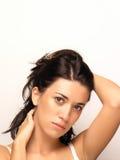 Beau visage de femme Photographie stock