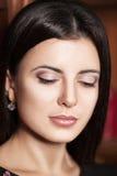Beau visage de femme Images libres de droits
