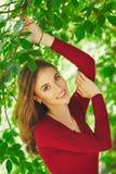 Beau visage de jeune femme Photo libre de droits