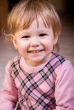 Beau visage de petite fille Images stock