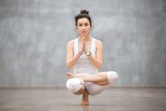 Beau yoga : Pose de Toestand image stock