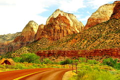Beau Zion National Park Photo stock