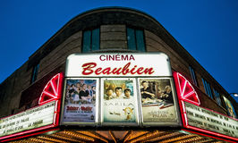 Beaubien Cinema Royalty Free Stock Photo