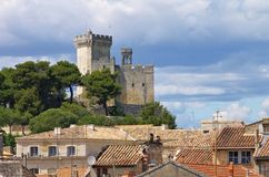Beaucaire castle Royalty Free Stock Photo