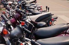 Beaucoup bicyclette électrique Images stock