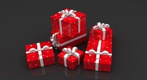 Beaucoup cadre de cadeau Photo libre de droits