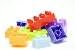 Beaucoup colorent et forment le lego Photographie stock libre de droits