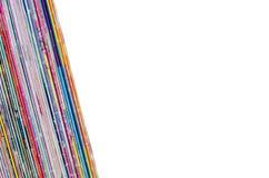 Beaucoup couleur de vieilles magazines comics image libre de droits