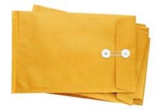 Beaucoup d'enveloppes de Brown Photo stock