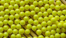 Beaucoup d'hauts étroits de pilules Images stock