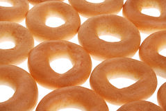 Beaucoup de bagels Images stock