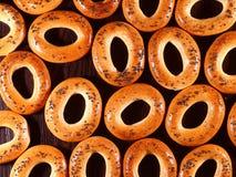 Beaucoup de bagels Image libre de droits