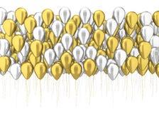 Beaucoup de ballons Image libre de droits