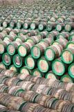 Beaucoup de barils Photographie stock libre de droits