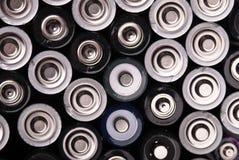Beaucoup de batteries de ci-avant Photo stock