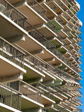 Beaucoup de beaucoup balcon Image libre de droits