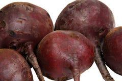 Beaucoup de betteraves rouges crues Image stock