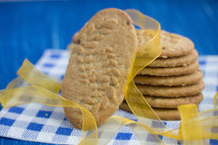 Beaucoup de biscuits Photo stock