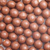 Boules de chocolat Image libre de droits