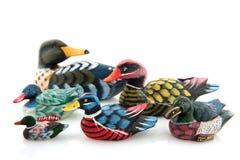 Beaucoup de canards Images libres de droits