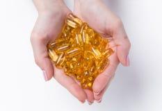 Beaucoup de capsules Photos stock