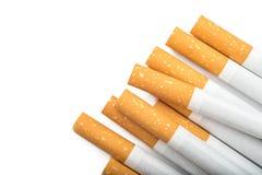 Beaucoup de cigarettes photographie stock