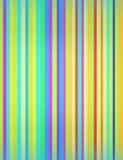 Beaucoup de couleurs rayées blured Photos libres de droits
