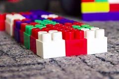 Beaucoup de détails multicolores des enfants réglés Photo libre de droits
